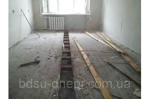 Демонтаж и земляные работы, Монтаж полов , Отделочные работы, Ремонт под ключ, Строительные работы