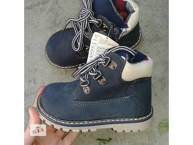 продам Деми ботинки для мальчика бу в Одессе