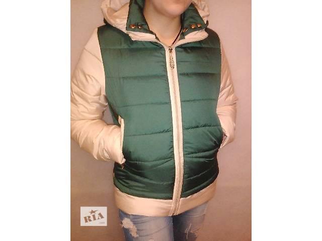 купить бу Демисезонная курточка модель 2016 года весна - осень в Харькове