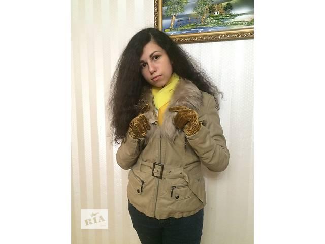 продам Демисезонная лайковая куртка на меху внутри бу в Хмельницком