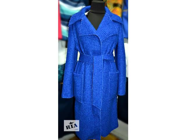Демисезонное новое пальто с поясом размер 42-46 Обмен или продам!- объявление о продаже  в Новой Каховке