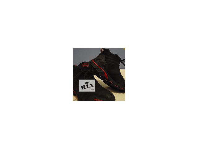 Демисезонные кожаные ботинки Geox (eur 31, uk 12,5; us 13,5; 19 см)- объявление о продаже  в Донецке