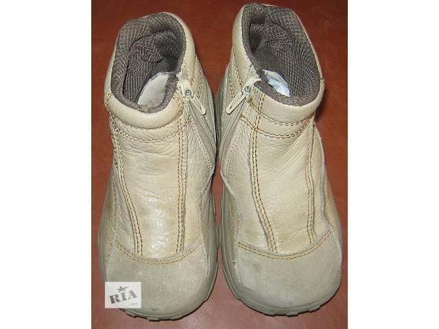 купить бу Демисезонные кожаные ботинки в Киеве