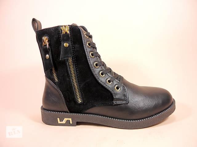 бу Демисезонные женские ботинки на шнуровке и молнии. Размеры 36-41. в Хмельницком