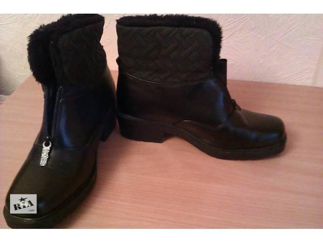 Демисезонные (зимние) ботиночки. р. 41- объявление о продаже  в Сумах