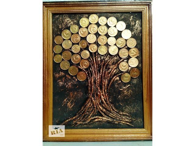 купить бу Денежное дерево панно картина в Херсоне
