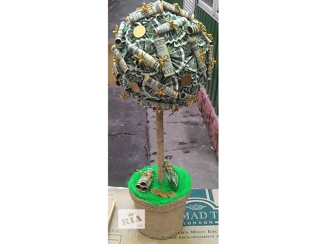 ДЕНЕЖНОЕ дерево ручной работы высокое НЕДОРОГО!!!- объявление о продаже  в Виннице