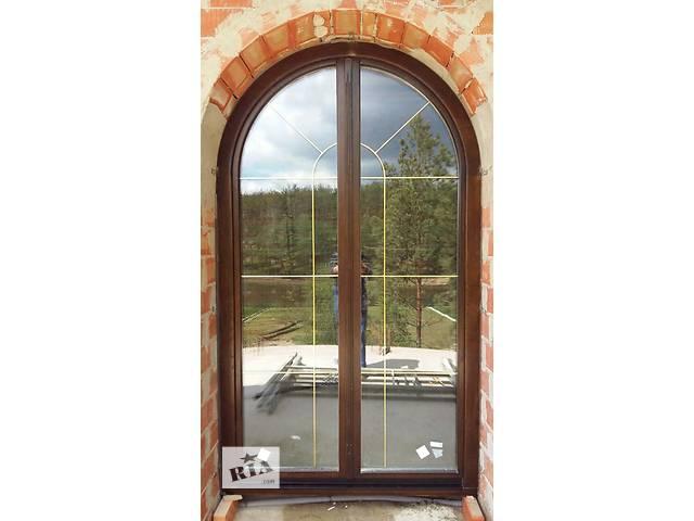 продам дерев'яні вікна з дубового євробрусу бу в Тернополі