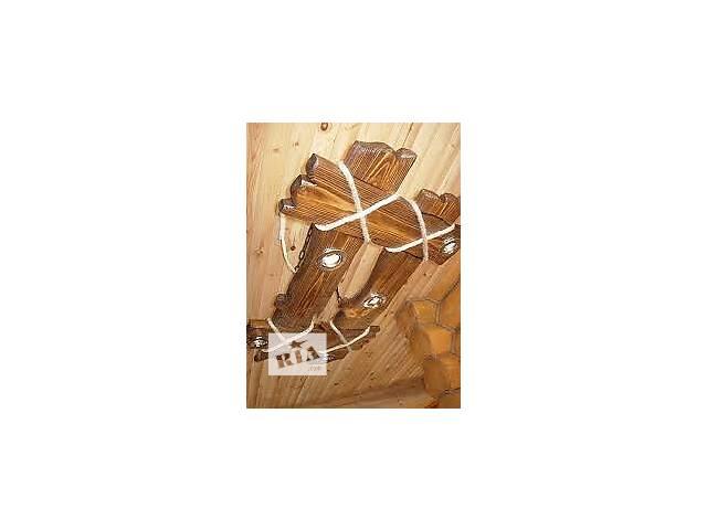 продам Деревянные светильники и брашки под старину бу в Тячеве