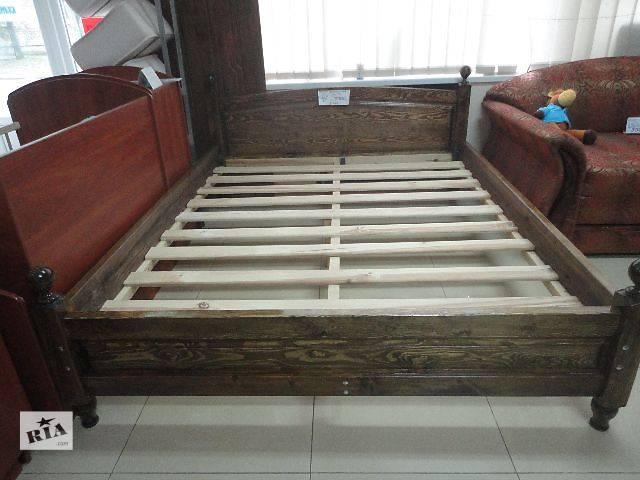 купить бу Деревянная кровать в Николаеве