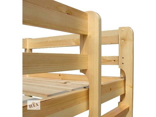 продам Деревянная двухъярусная кровать для детей и подростков бу в Киеве