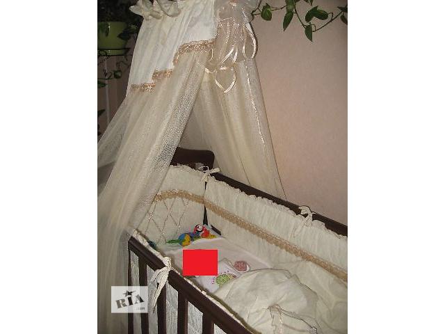 Деревянная кроватка Верес Соня ЛД7 со всеми «принадлежностями»- объявление о продаже  в Киеве