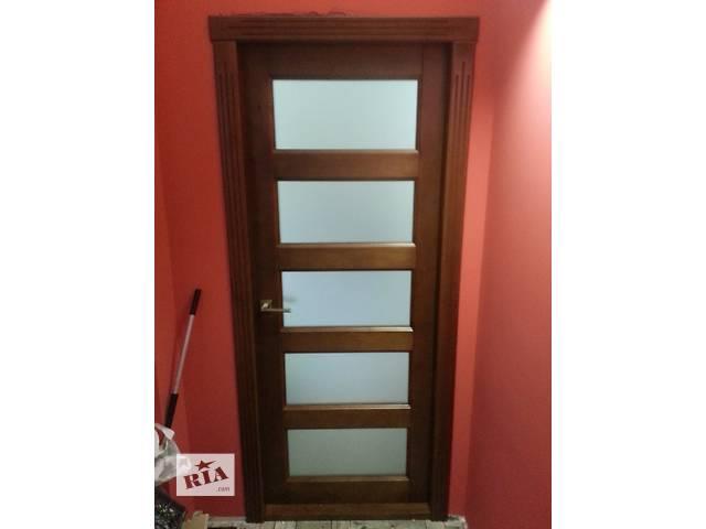 Деревянные двери- объявление о продаже  в Одессе