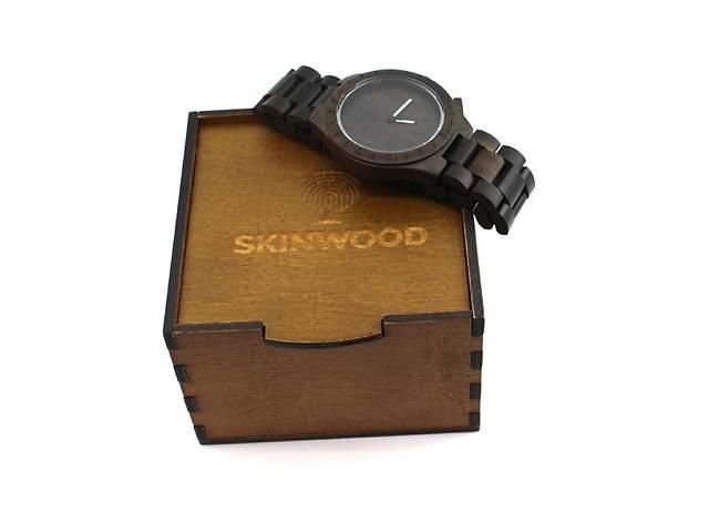 купить бу Деревянные наручные часы Black Uwood в Киеве