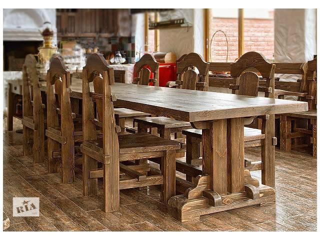 купить бу Деревянные столы в Киеве