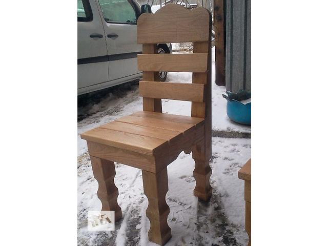 купить бу Деревянные стулья для кафе для сада, из дуба в Виннице