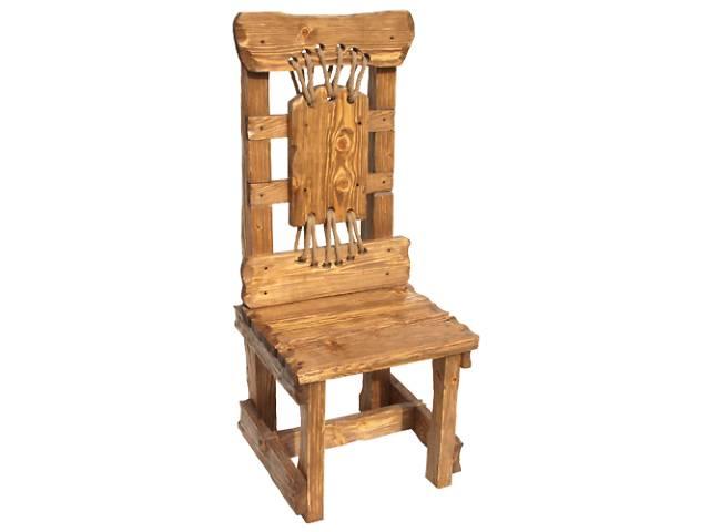 Деревянные кресла под старину, Стул Богатырь- объявление о продаже  в Киеве