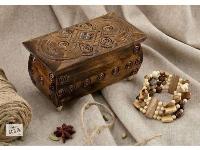 купить бу Деревянные шкатулки в Тернополе