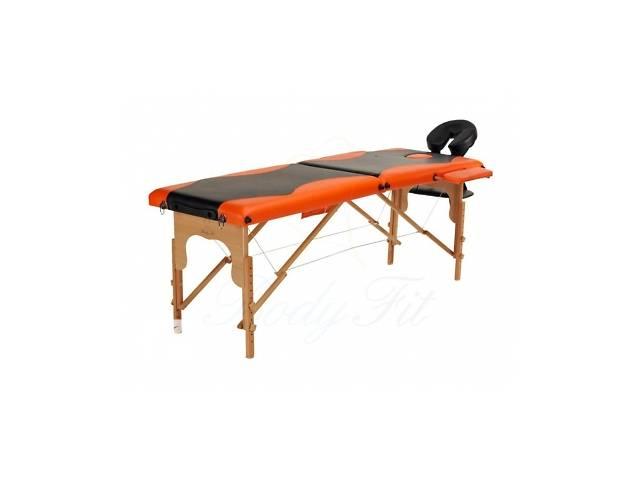 продам Деревянный 2-х сегментный стол для массажа 2 цвета бу  в Украине