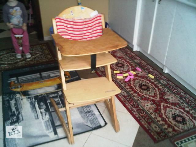 продам детский деревяный стул бу в Борисполе
