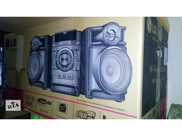 продам Дешевле чем в Rozetke !!! продам Новый в упаковке Музыкальный Центр LG cm 4320 c 2 USB пишет с флешки на флешку , мр3 CD бу в Киеве