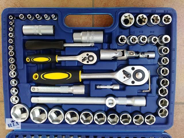 купить бу Дешево набор головок ключей инструментов 108 эл MASTIFF ключи в Львове