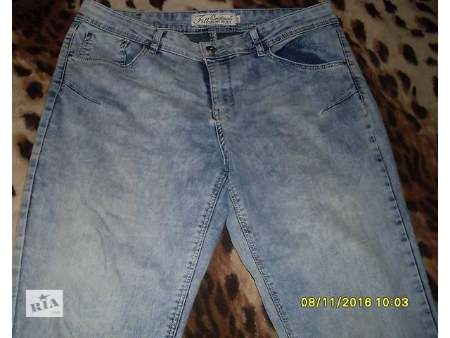 бу ДЕШЕВО! Шикарные,модные джинсы 50/52р!Высокая посадка, отличный джинс!  в Новой Каховке