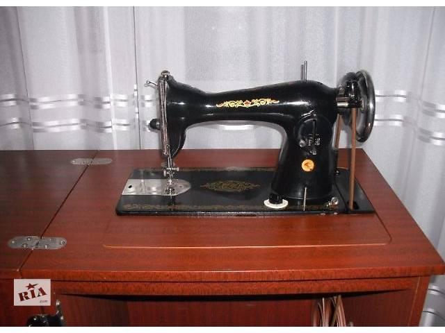ДЕШЕВО!СРОЧНО! Швейная машина Подольск класса 2М + ТУМБА- объявление о продаже  в Виннице