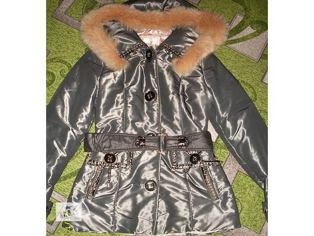 бу ДЕШЕВО!Зимняя курточка 46/48р(симпатичный пошив) в Новой Каховке