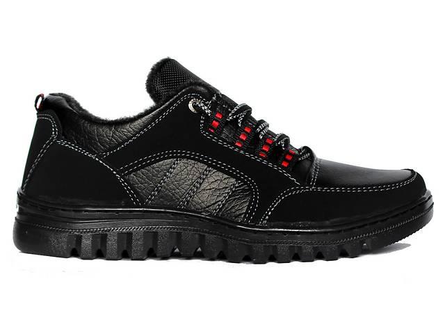 продам Дешевые теплые мужские кроссовки черные +2016 бу в Днепре (Днепропетровске)