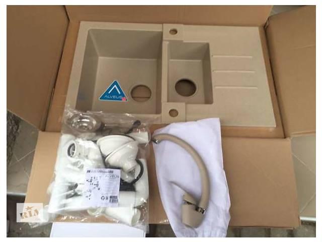 бу дешиво мийка кухонна гранітна Rock70 +змішувач в комплекті в Самборе