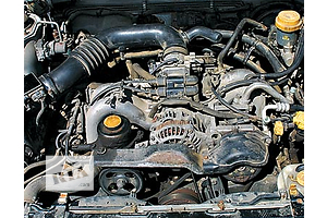б/у Блоки двигателя Subaru Tribeca