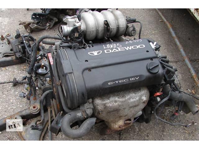 Двигатель Daewoo Lanos 1.6