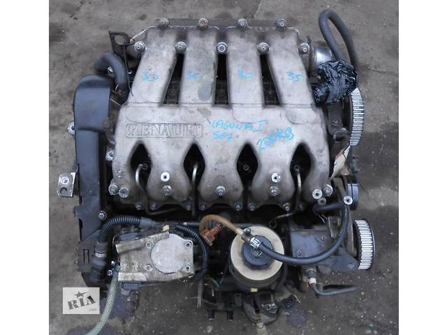 Фото двигателя рено лагуна