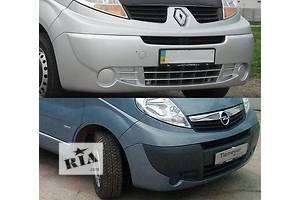 Новые Бамперы передние Opel Vivaro груз.