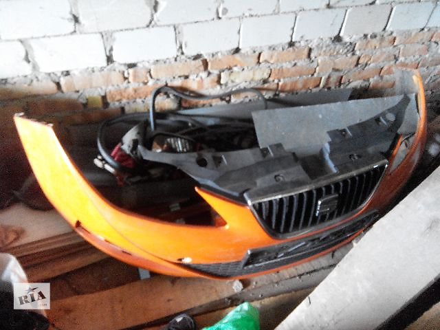купить бу Детали кузова Бампер передний Легковой Seat Ibiza Хэтчбек 2010 в Киеве