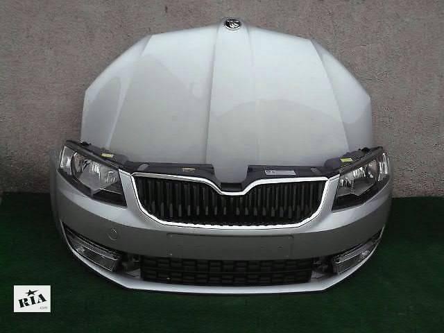 бу Бампер передний для легкового авто Skoda Octavia 2013 SKODA OCTAVIA III,А7 морда комплектная запчасти в Жовкве