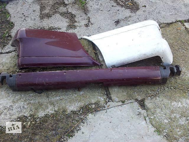 бу Детали кузова Бампер задний Легковой Mercedes Vito 639 в Львове