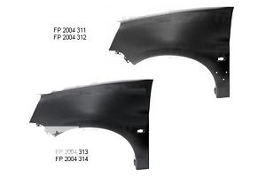 Новые Крылья передние Peugeot Partner груз.
