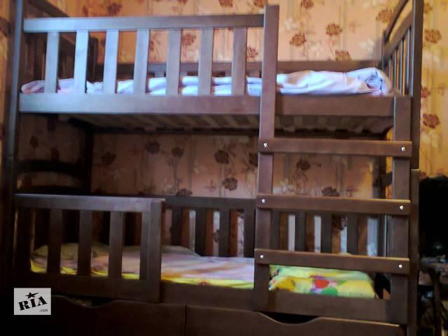 продам Детская двухъярусная кровать Карина-Люкс для детей и взрослых! бу в Киеве
