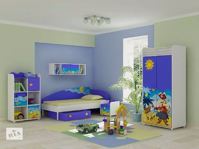 Детская комната для мальчика и для девочки в морском стиле - Океан. Доставка по Украине. Большой выбор детских комнат- объявление о продаже  в Одессе