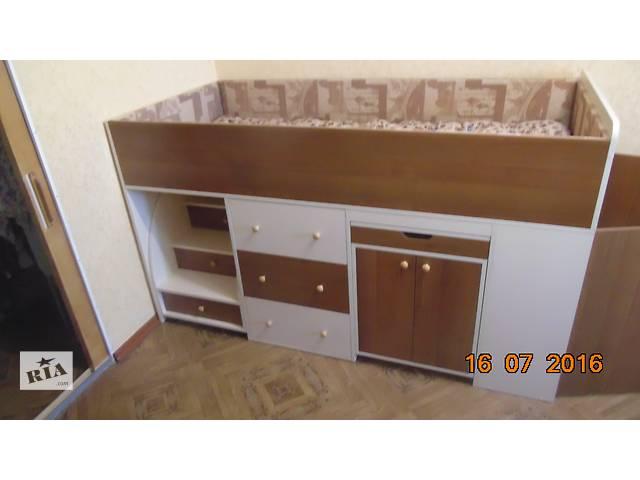 детская кровать чердак + шкаф- объявление о продаже  в Николаеве