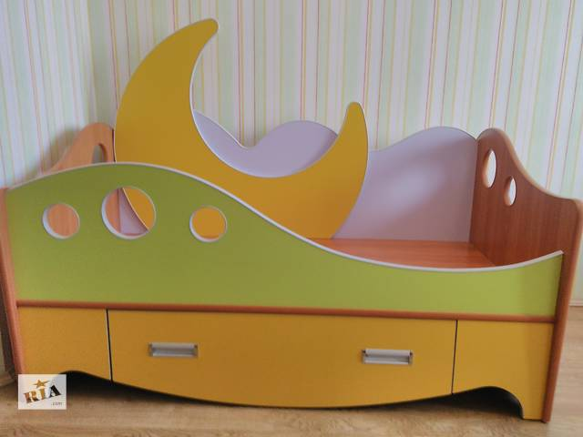 """Детская кровать ( дитяче ліжко ) б/у с матрасом """"Велам"""" в идеальном состоянии- объявление о продаже  в Виннице"""
