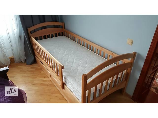 продам Детская-подростковая деревянная кровать Карина! бу в Киеве