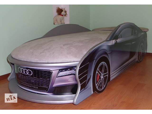 купить бу Детская кровать машина АУДИ СЕРЕБРО в Кременчуге