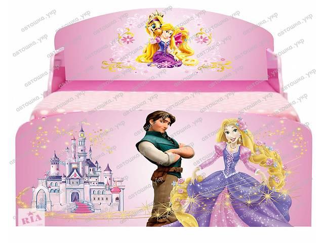продам Детская кровать Принцессы Дисней Рапунцель с бесплатной доставкой бу в Львове