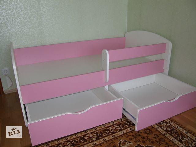 купить бу Детская кровать с защитным бортиком в Киеве