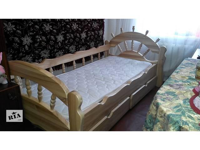 продам Детская кровать из ясеня Бриз - хит продаж бу в Киеве