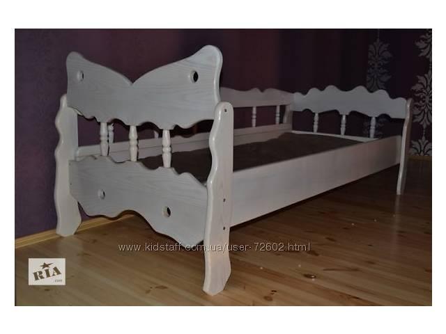 купить бу Детская кроватка Эльф из ясеня для девочки  в Киеве