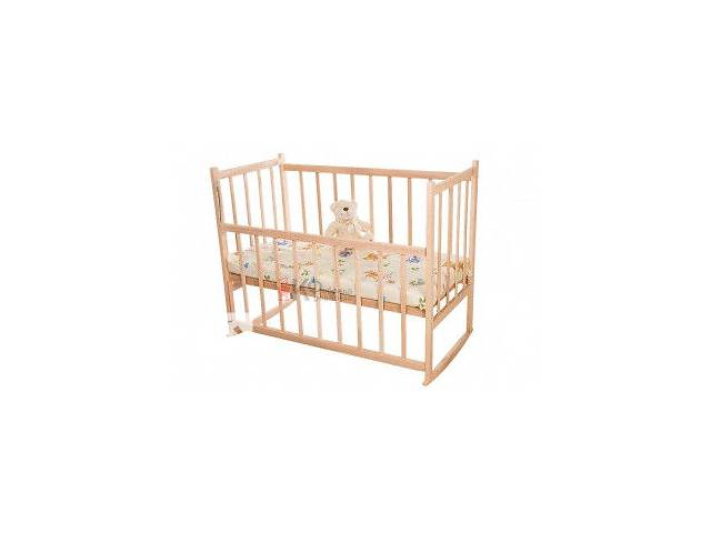 Детская кроватка КФ-2 без лака- объявление о продаже  в Каменец-Подольском